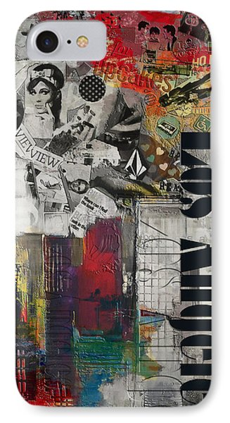 Los Angeles Collage Alternative IPhone Case by Corporate Art Task Force
