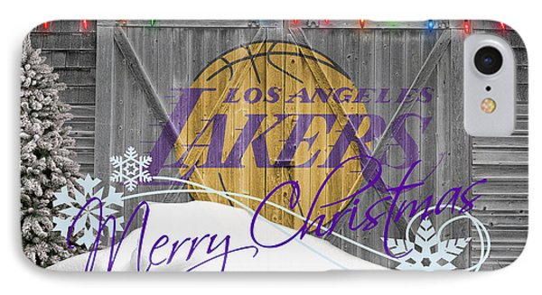 Los Angeles Lakers Phone Case by Joe Hamilton