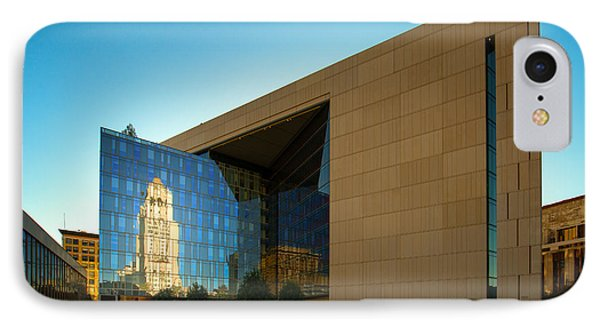 Los Angeles Police Dept Headquarters IPhone Case by Celso Diniz