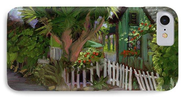Los Rios Street San Juan Capistrano California IPhone Case by Alice Leggett