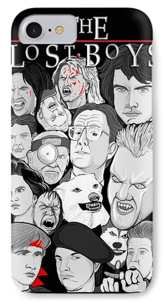 Lost Boys Collage Phone Case by Gary Niles
