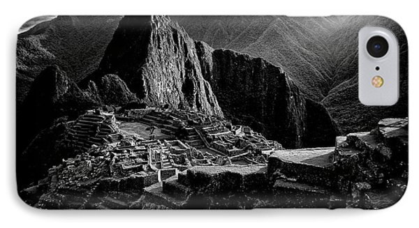 South America iPhone 7 Case - Lost City Of The Incas by Alejandro Fern?ndez Mu?oz