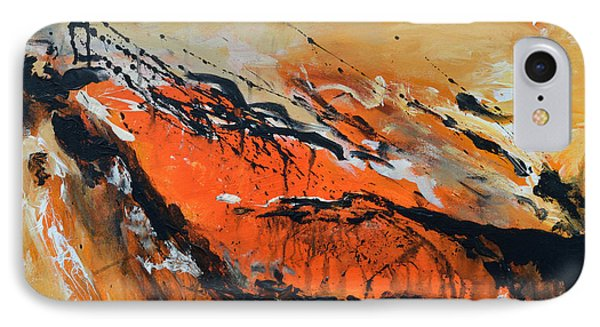 Lost Hope - Abstract Phone Case by Ismeta Gruenwald