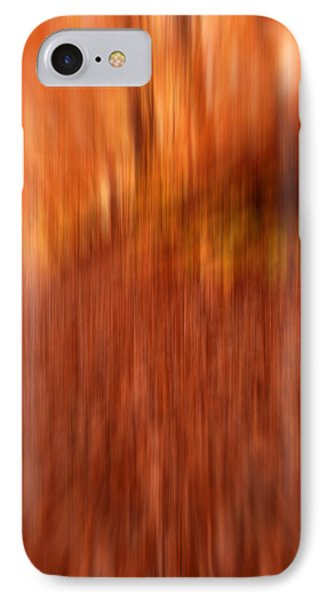 Lost In Autumn IPhone Case by Lourry Legarde