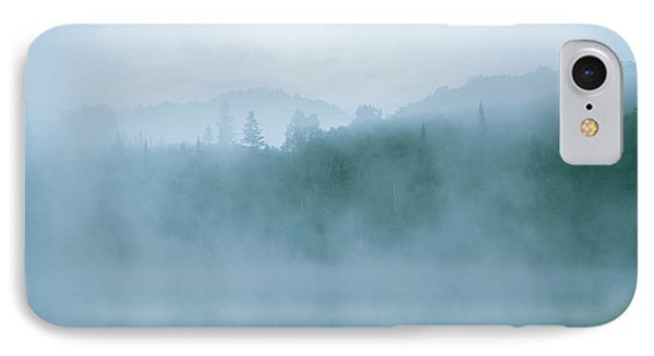 Lost In Fog Over Lake IPhone Case