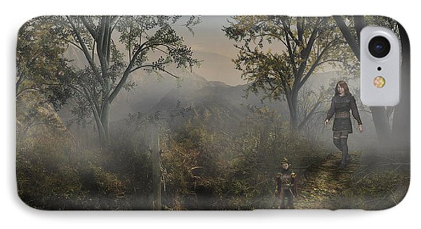 Lost In The Mist IPhone Case