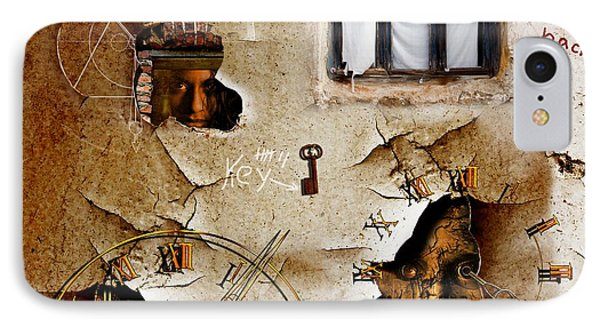Lost Memories Behind My Longing Window IPhone Case by Franziskus Pfleghart