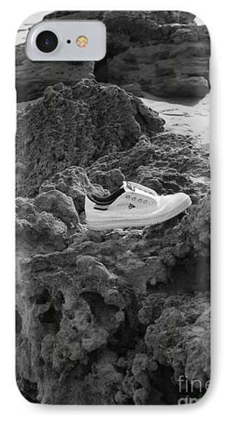IPhone Case featuring the photograph Lost On The Beach by Amanda Holmes Tzafrir