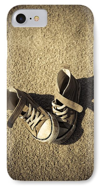 Lost Shoes IPhone Case by Maria Heyens