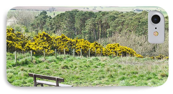 Lothian Landscape IPhone Case by Tom Gowanlock