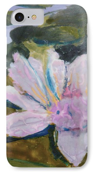 Lotus Be Phone Case by Valerie Lynch