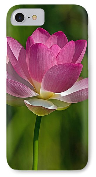 IPhone Case featuring the photograph Lotus Bloom by Jerry Gammon
