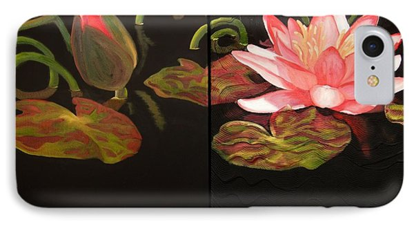 Lotus Bud To Bloom IPhone Case by Janet McDonald