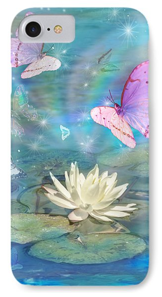 Lotus Butterfly IPhone Case by Alixandra Mullins
