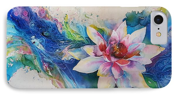 Lotus Flower IPhone Case by Christy  Freeman
