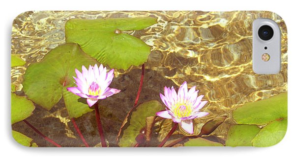 IPhone Case featuring the photograph Lotus by Mini Arora
