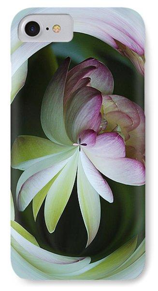 Lotus Mirror Phone Case by Jean Noren