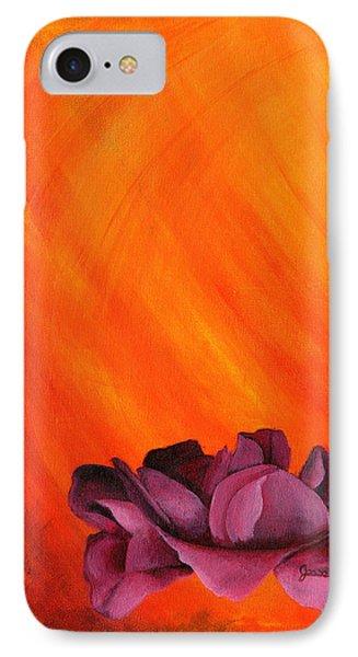 Lotus Rose IPhone Case
