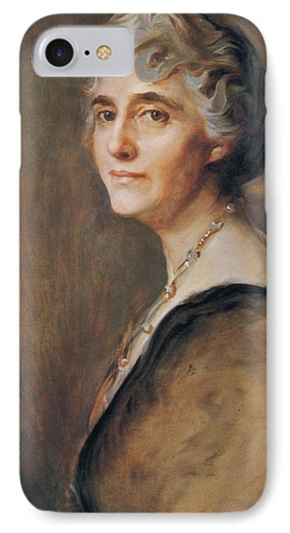 Lou Hoover, First Lady IPhone Case by Science Source