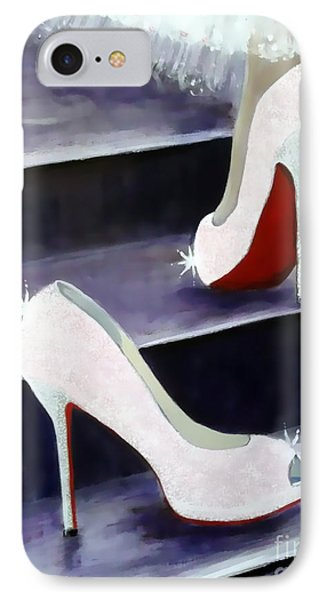 Louboutin Fairy Tale IPhone Case by Rebecca Jenkins