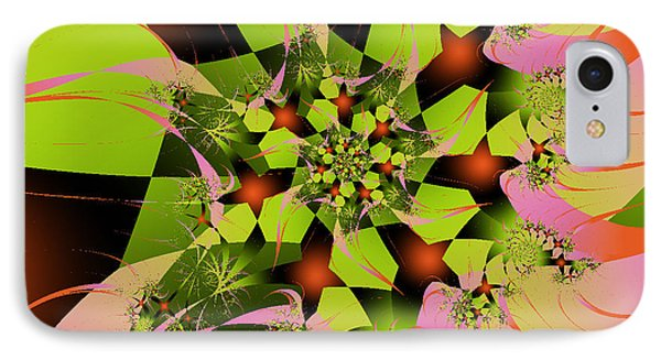 IPhone Case featuring the digital art Loud Bouquet by Elizabeth McTaggart
