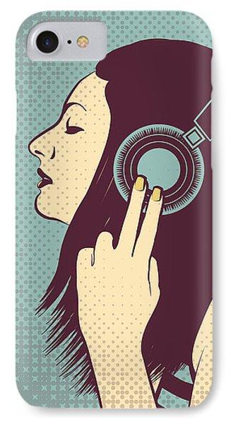 Loud Silence IPhone Case by Freshinkstain