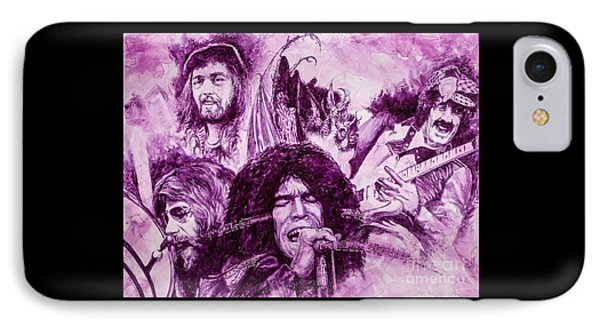 IPhone Case featuring the painting Loud'n'proud by Igor Postash