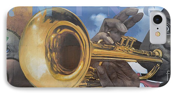 Louis Armstrong Phone Case by Bob Christopher