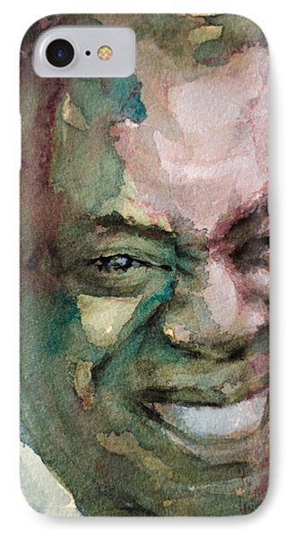 Louis Armstrong IPhone Case by Laur Iduc