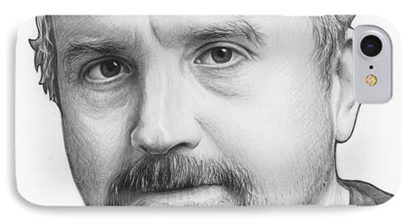 Louis Ck Portrait IPhone Case