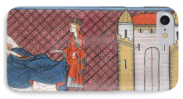 Louis Ix Captured At Mansurah IPhone Case by British Library