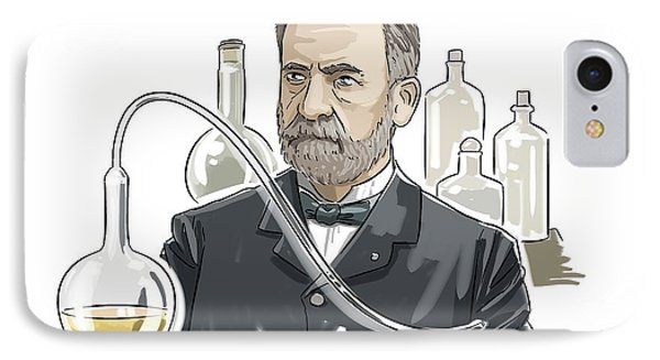 Louis Pasteur IPhone Case by Harald Ritsch
