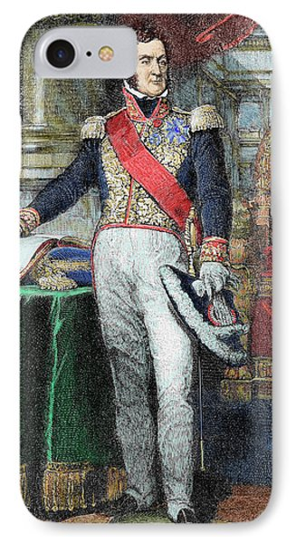Louis-philippe I (paris IPhone Case by Prisma Archivo