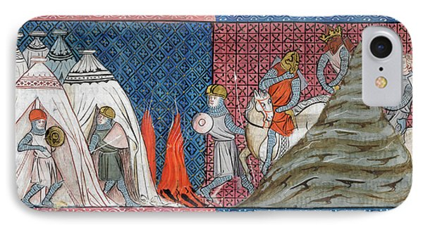 Louis Vii Reaches The Camp IPhone Case by British Library