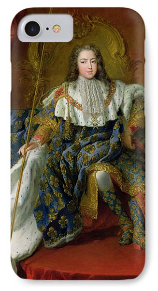 Louis Xv IPhone Case by Alexis Simon Belle