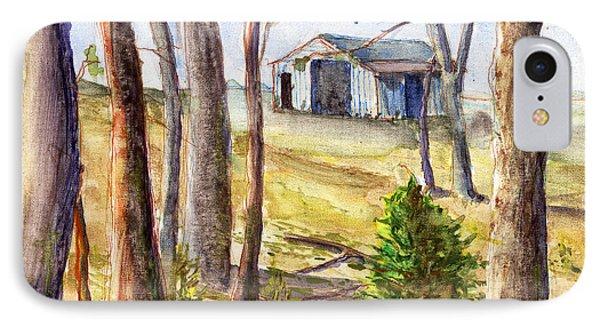 Louisiana Barn Through The Trees IPhone Case