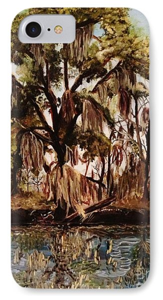 IPhone Case featuring the photograph Louisiana Bayou by Brigitte Emme