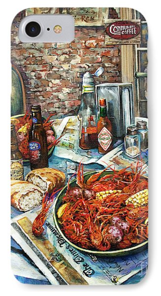 Louisiana Saturday Night Phone Case by Dianne Parks