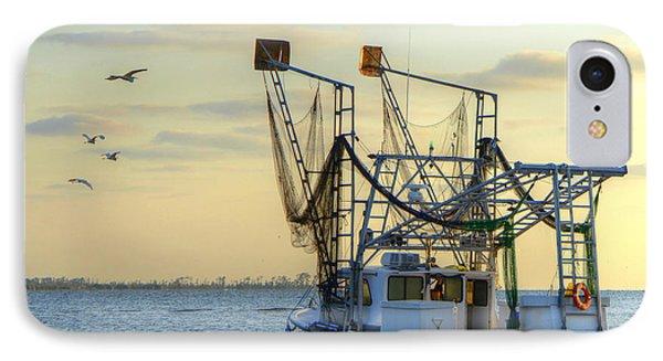 Louisiana Shrimping IPhone Case