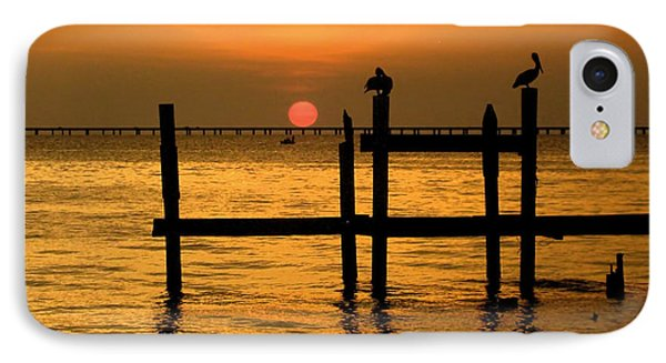 IPhone Case featuring the photograph Louisiana Sunset  by Kathy Bassett