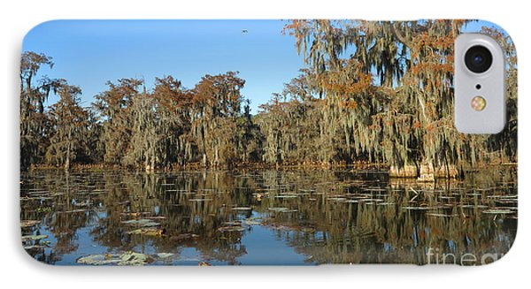 IPhone Case featuring the photograph Louisiana Swamp by Martin Konopacki