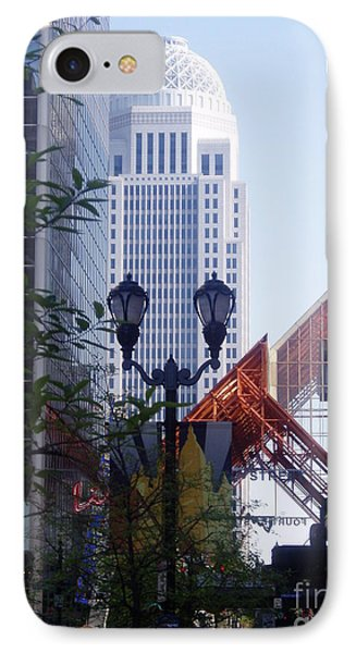 Louisville Buildings 2 Phone Case by Jennifer E Doll