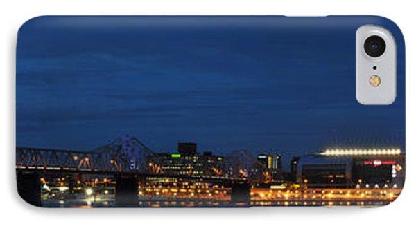 IPhone Case featuring the photograph Louisville Skyline by Deborah Klubertanz