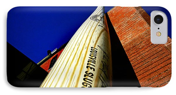 Louisville Slugger Bat Factory Museum IPhone Case by Bill Swartwout