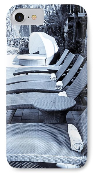 Lounge Chairs Phone Case by Sophie Vigneault