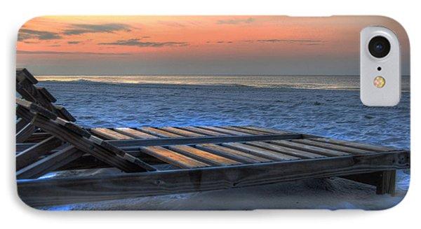 Lounge Closeup On Beach ... Phone Case by Michael Thomas