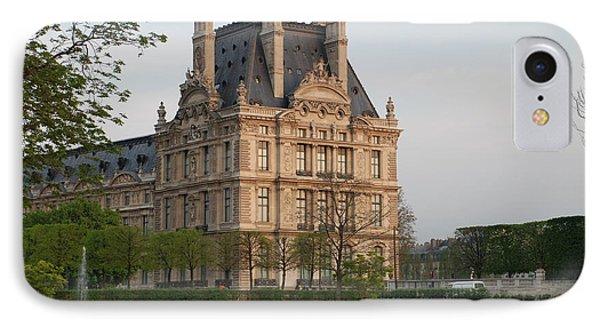 Louvre Museum Phone Case by Jennifer Ancker