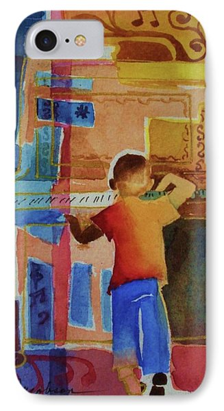 Love A Piano 1 Phone Case by Marilyn Jacobson