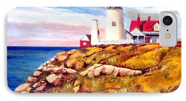 Love A White Lighthouse IPhone Case