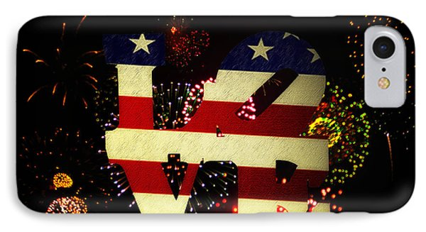 Love American Style IPhone Case by Bill Cannon